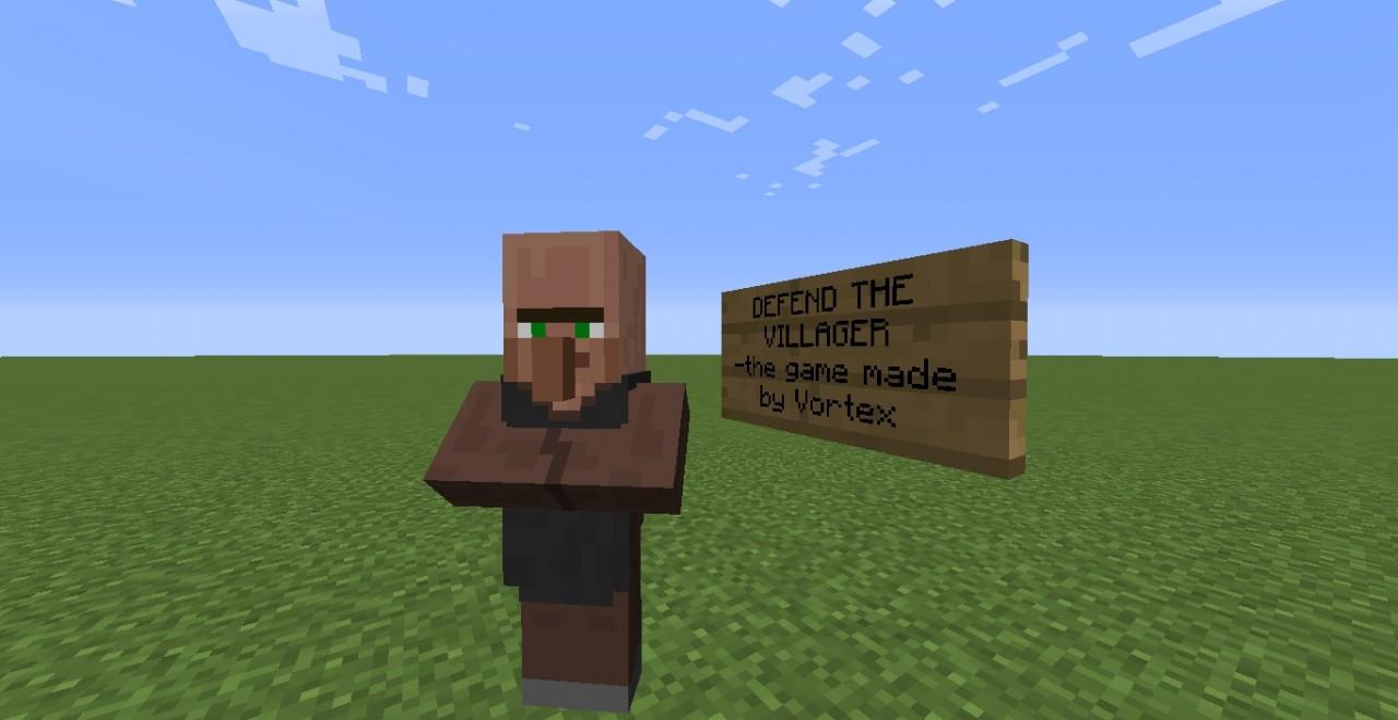 Defend The Villager Adventure]=- (BETA) Minecraft Project