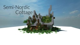 Semi-Nordic Cottage   1.8 Update Minecraft Map & Project