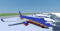 Boeing 737-800 Minecraft Project