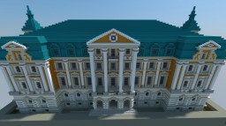 The Bursztynowy Palace ; Polish Palace Minecraft
