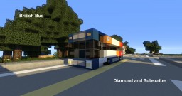 vehicle - British Bus Minecraft