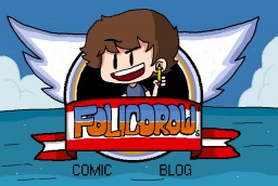 Folicorow's Comic Blog! Minecraft Blog Post