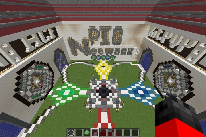 Our current spawn at PigPvP!