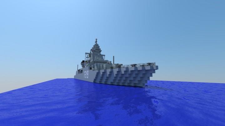fregatte sachsen klasse german frigate f124 minecraft project. Black Bedroom Furniture Sets. Home Design Ideas