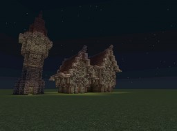 Medieval Building Style Minecraft Map & Project