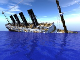 RMS Lusitania Sinking OUTDATED! Minecraft Map & Project
