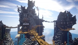 Steampunk Mountains: Hexion SMP Minecraft Map & Project