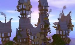 Steampunk Vilage Minecraft Map & Project