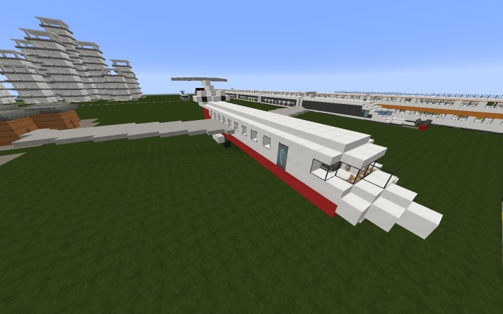 Private Jet Red Airways Minecraft Project