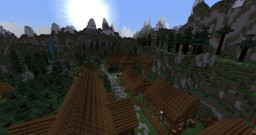 The Barrow. A Skyrim themed adventure map. Minecraft Map & Project