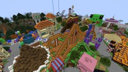 Out of This World Theme Park Minecraft