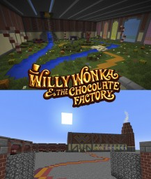 Willy Wonka & The Chocolate Factory Minecraft Map & Project