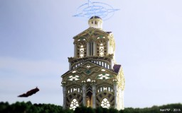 Paranados- Climb to Heaven [QuantumHCF KOTH] Minecraft Map & Project