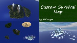 Custom Survival Map 2000X2000 blocks! Minecraft Map & Project