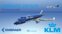 Embraer 190 KLM (full interior) Minecraft