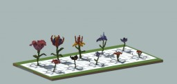 'Fantasy Flower Bundle' - Discovery Works Minecraft Project