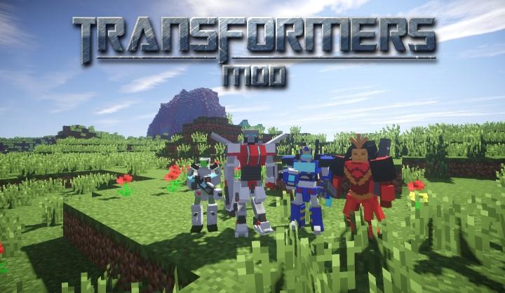 1 7 10 Transformers Mod 0 6 3 Forge Minecraft Mod
