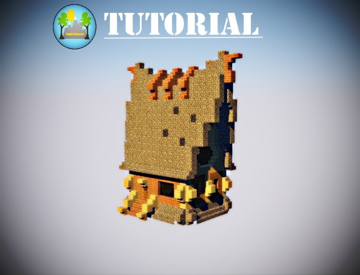 Minecraft house Tutorial. STEP BY STEP. Minecraft Project