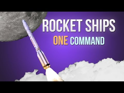 Rocket Ships in one command!