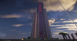 enormous high-rise with loft and pool Minecraft Map & Project