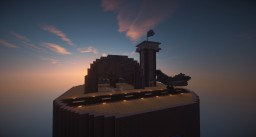 tiny military airbase with factory Minecraft Map & Project