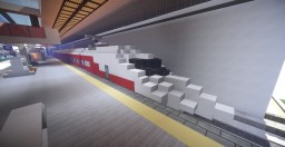 AXI High Speed Train #1 Minecraft Map & Project