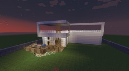 Modern House (started) Minecraft Map & Project