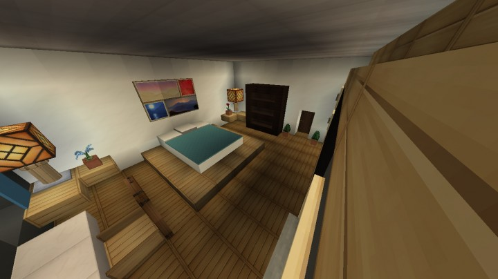 minecraft modern bedroom furniture modern bedroom design minecraft project 12401