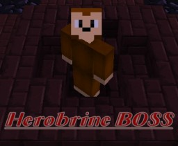Herobrine BOSS Minecraft Map & Project