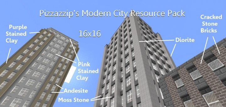 Modern City Resource Pack