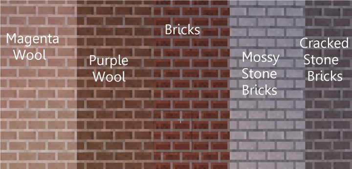 You get lots of different bricks!