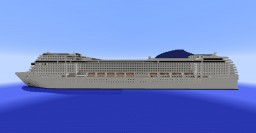 MSC Musica - 1:1 cruise ship Minecraft Map & Project