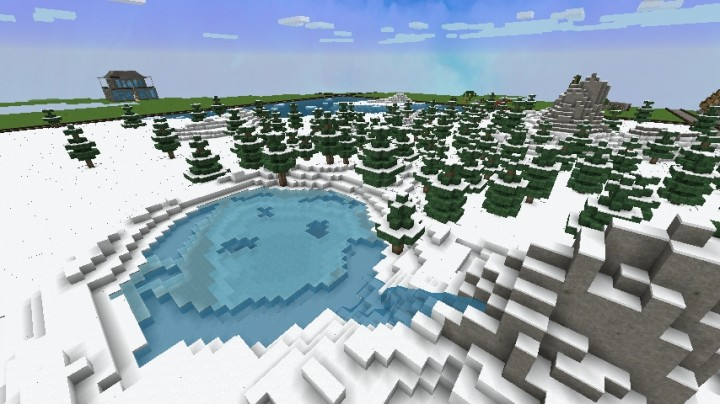 Mini Games Map  Arctic  Minecraft Project