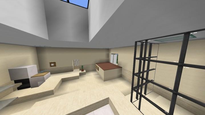 Furniture Modern Bathroom Design Description In Comments Minecraft Project