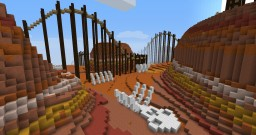 Bone Canyon - A Minecraft Roller Coaster Minecraft