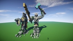 Dwarven Themed Statues Minecraft Map & Project