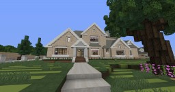 Colonial Style Home Minecraft Map & Project