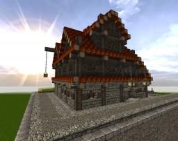 Medieval Taverna *automatic item sorter* Minecraft