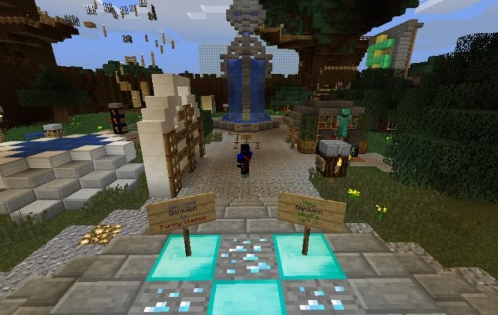FUNKY CLASSIC    pvp.blue Minecraft Server edf4ac85e4633