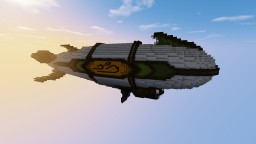 Airship :: Fantasy Series :: 001 Minecraft Map & Project