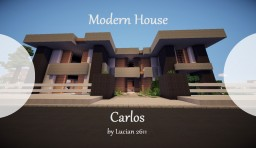Eureka | Modern House - Carlos by Lucian2611 Minecraft