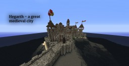 Hegarth - A Great Medieval City [1.8.3] [by Alex Hunter] Minecraft Map & Project