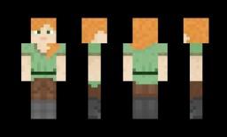 How to Make an Alex Minecraft Skin Minecraft Blog Post