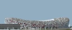 Beijing National Stadium (1:1 Scale) Minecraft Map & Project