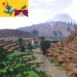 Dunda, Tibet, China Minecraft Map & Project