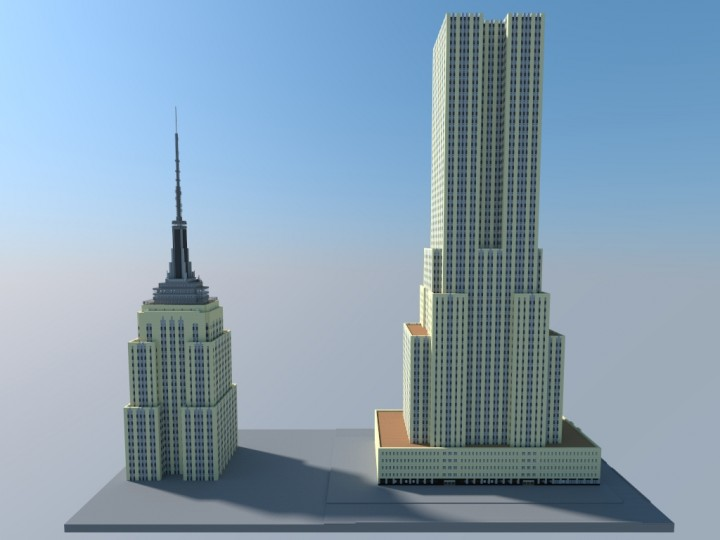 Empire State Building Full Scale Minecraft Project