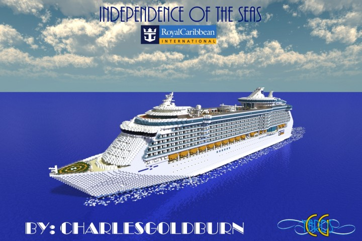 Independence Of The Seas Scale Cruise Ship Download - Cruise ship independence