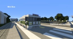 Vehicle - Mini Bus Minecraft Map & Project