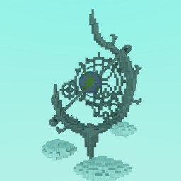 Industrial/Fantasy Organics Minecraft Map & Project