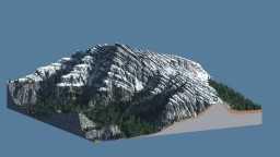 Map for builders | Lonely mountain Minecraft Project